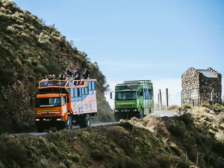 "Reserva Natural Villavicencio con ""Andes Truck"""
