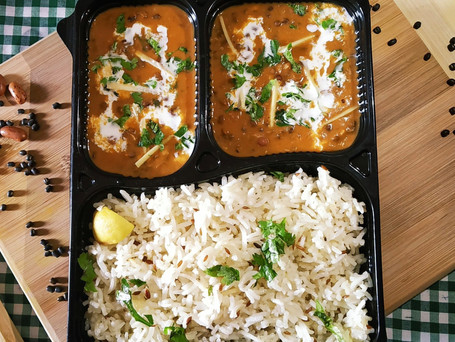 Dal Makhani with Jeera Rice and Buttermilk