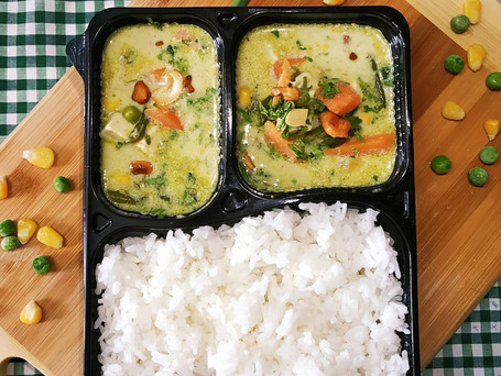Thai Green Curry with Thai Jasmine Rice