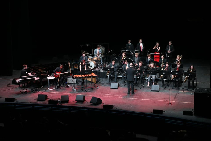Duluth East Jazz Playing at Eau Claire Headliner Concert!
