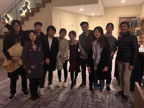 Yoko Miwa's show at Sculler's!