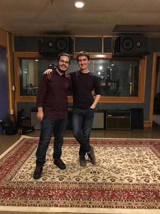 Recording with João Semedo!