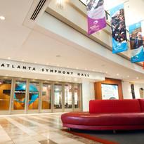 Atlanta Symphony Hall lobby - Credit Jef