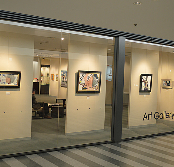 Sue Painting Exhibition at Tokyu Department Store
