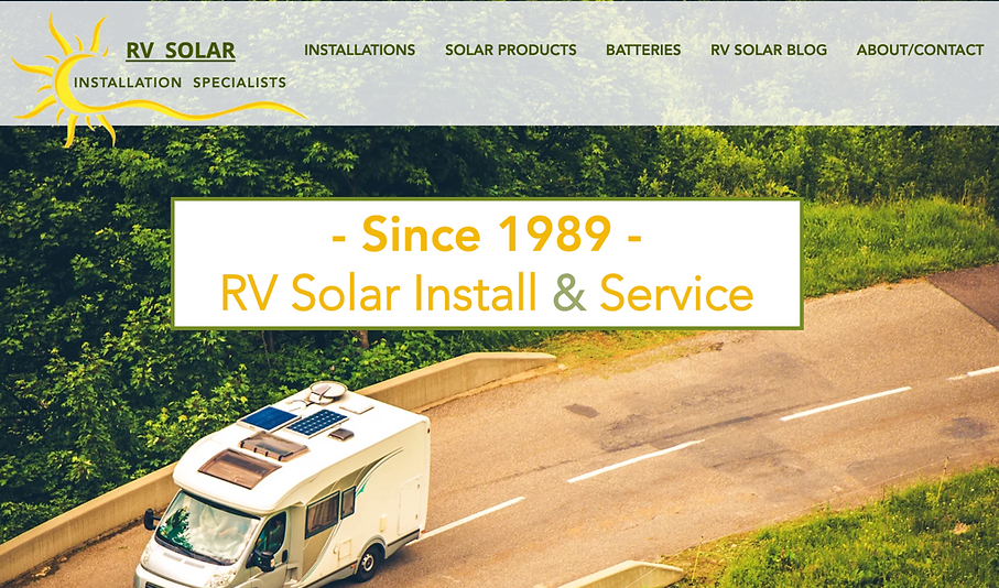 Rv Solar Systems Amp Battery Experts Rick S Rv Center San