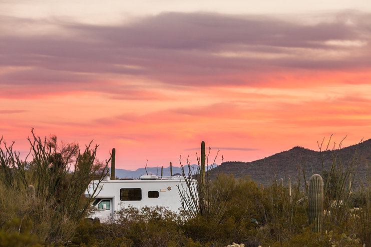 rv-camping-on-sonoran-desert-campground-