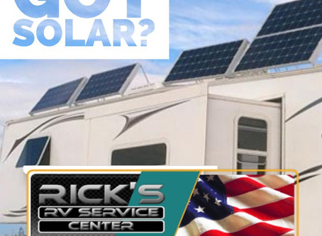 Got Solar? Rick's RV Has You Covered
