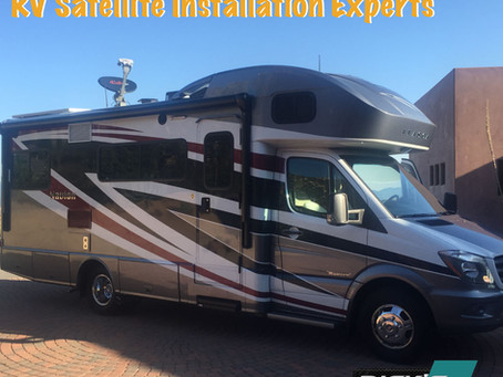 In-Motion RV Satellite TV Systems