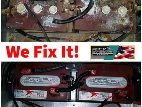 At Rick's RV Center - We Fix It