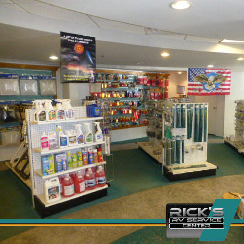 RV Supplies and Cleaners