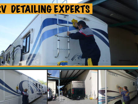 Professional Detailing Protects Your RV Investment