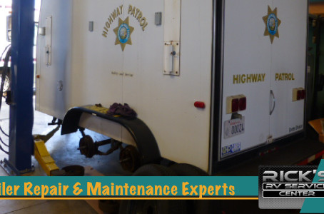 Rick's RV Center All Trailer Service, Repair and Restore