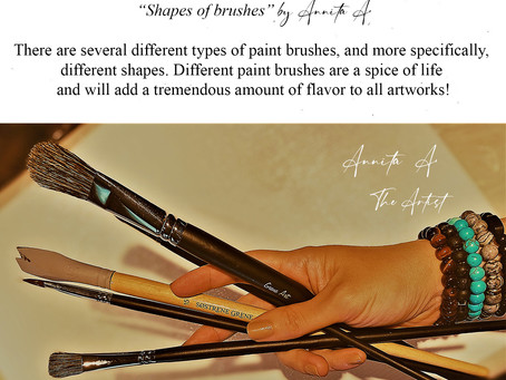 """""""Shapes of brushes"""" by Annita A."""
