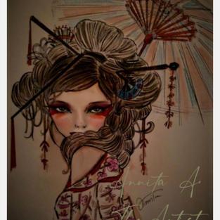 Ohana means flower - by Annita A.