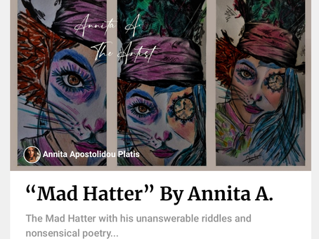 """Mad Hatter"" By Annita A."