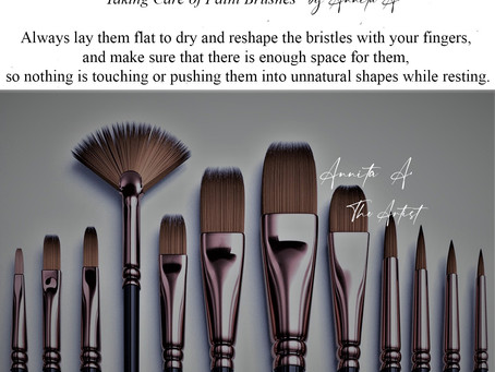 """""""Small advices about Paint Brushes"""" by Annita A."""