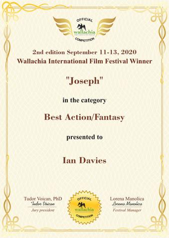 Joseph // Wallachia International Film Festival -  Best Action Fantasy