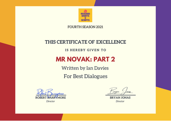 Mr Novak  Part 2 // Redwood Short & Scripts - Best Dialogues