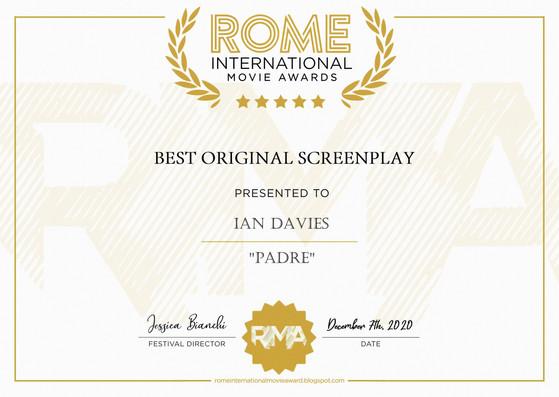 Padre // Rome International Movie Awards - Best Original Screenplay