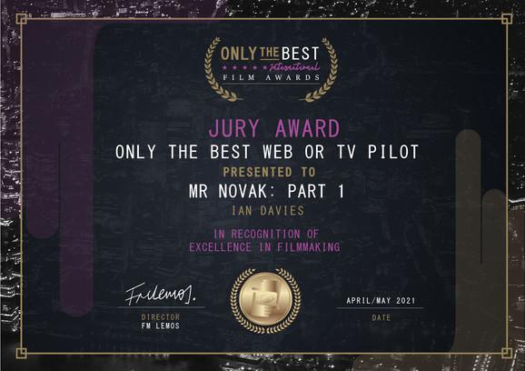 Mr Novak Part 1 // Only The Best Film Festival -  Best Web or TV Pilote