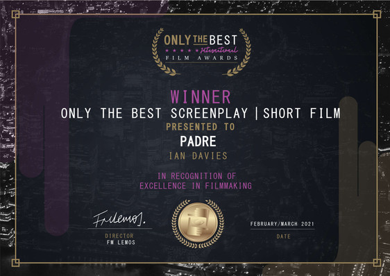 Padre // Only the Best Film Festival - Screenplay/Short Film