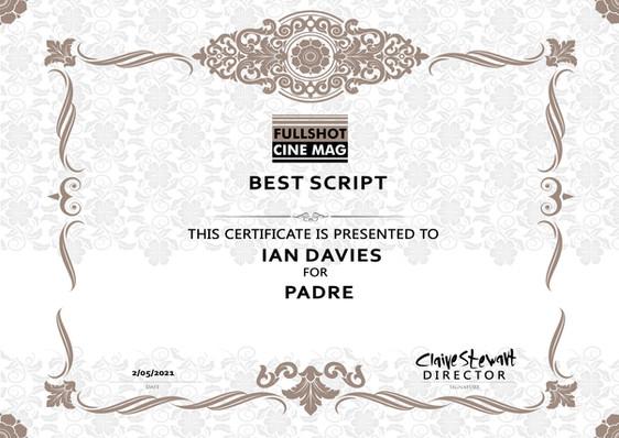 Padre // Fullshot Cine Mag - Best Script