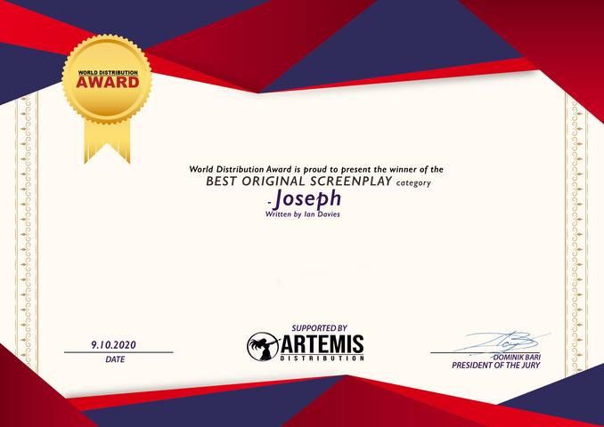Joseph // World Distribution Award - Best Original Screenplay