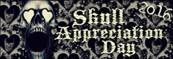 Skull Appreciation Day Blog Hop - June 4th!