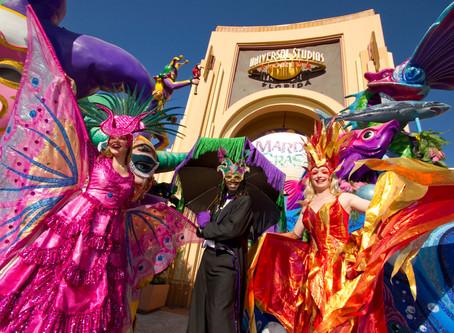 25 anos de Mardi Gras no Universal Studios