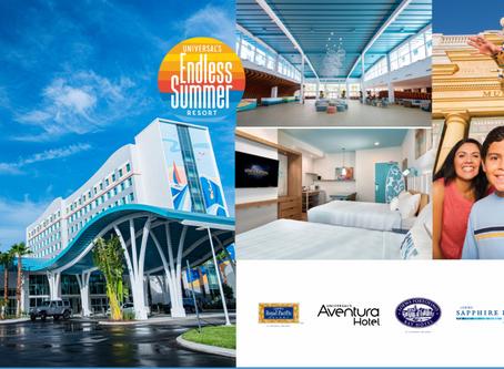 Hospede-se nos resorts da Universal Orlando, ganhe o transfer do aeroporto e muito mais vantagens!