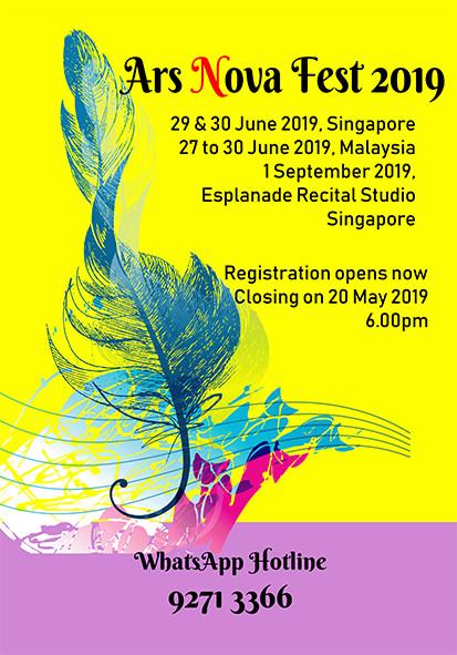 Music Festival | Ars Nova Fest 2019 | Singapore