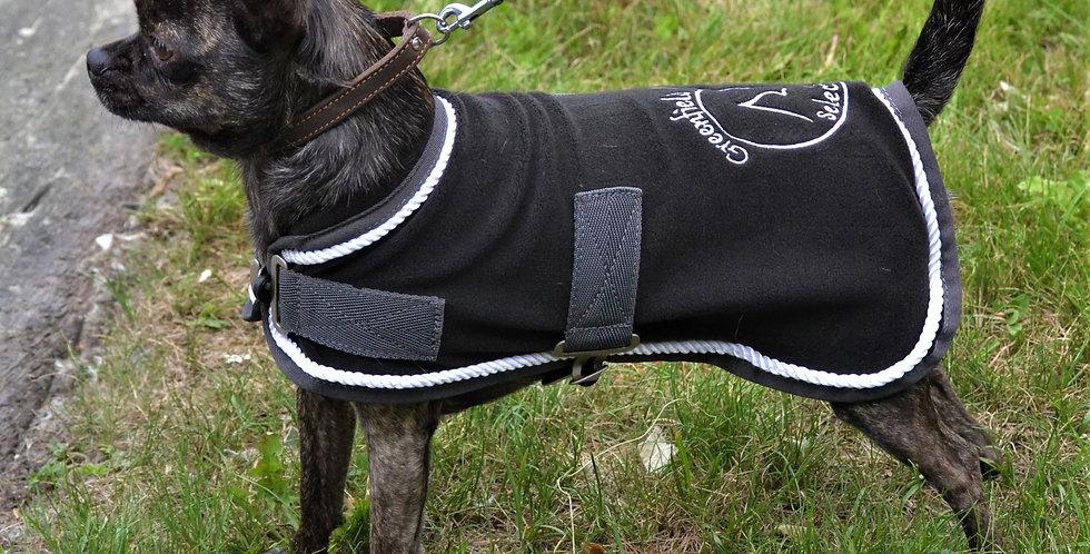 Manteau pour chien en polaire - gris