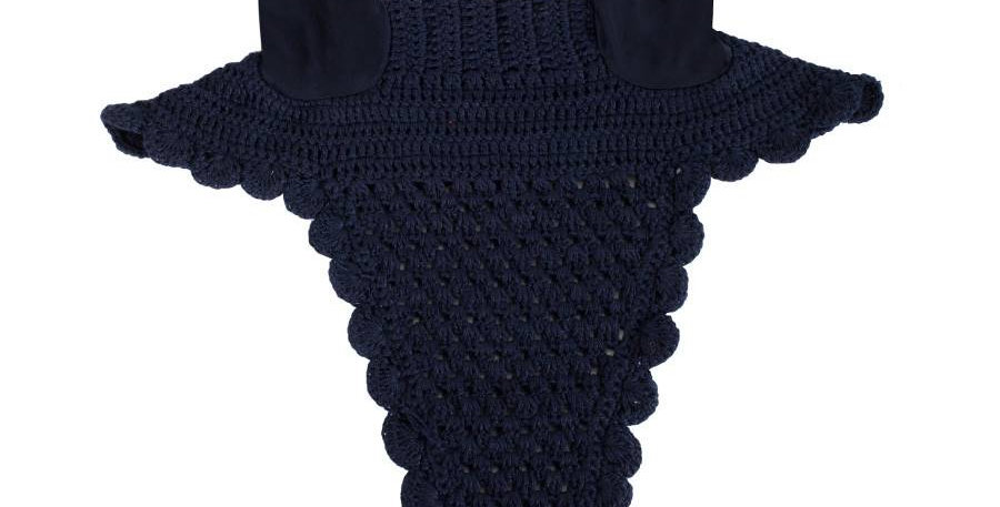 Bonnet long - bleu marine