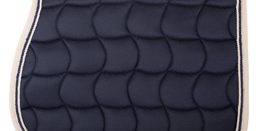 Tapis de selle - bleu marine/beige-bleu marine/beige