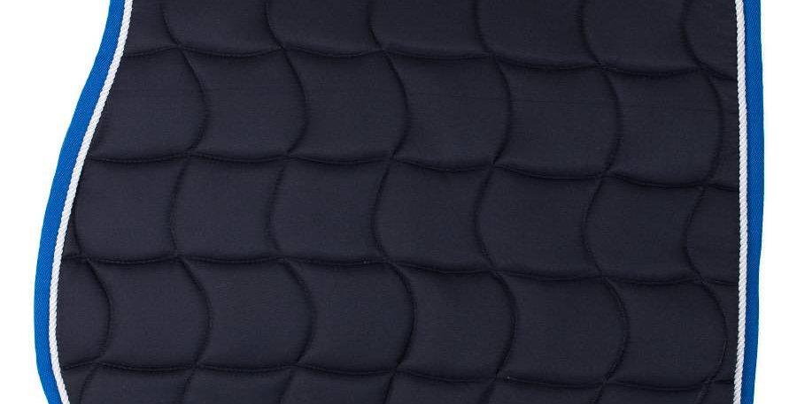 Tapis de selle - bleu marine/bleu clair-blanc