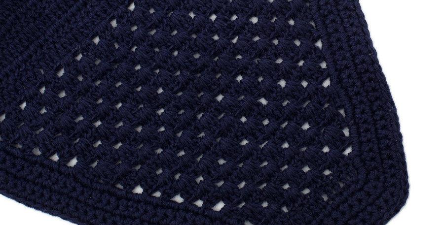 Bonnet modèle droit - bleu marine