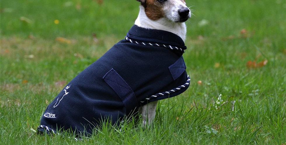 Manteau pour chien en polaire - bleu marine