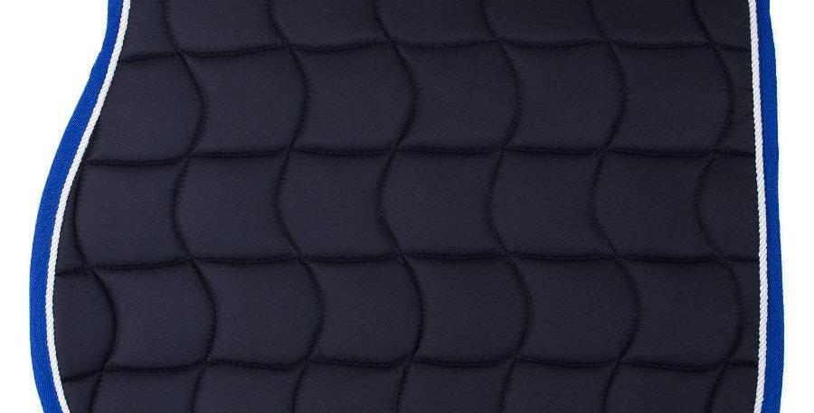 Tapis de selle - bleu marine/bleu royal-blanc