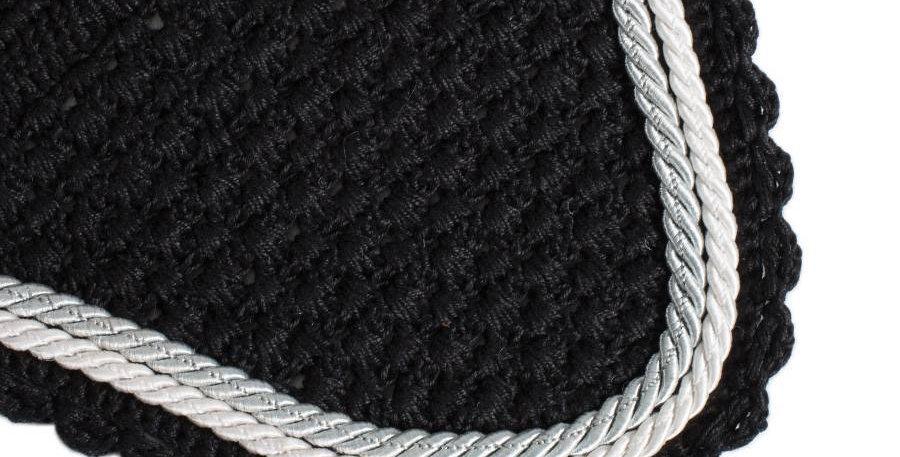 Bonnet - noir/noir-blanc/gris argent