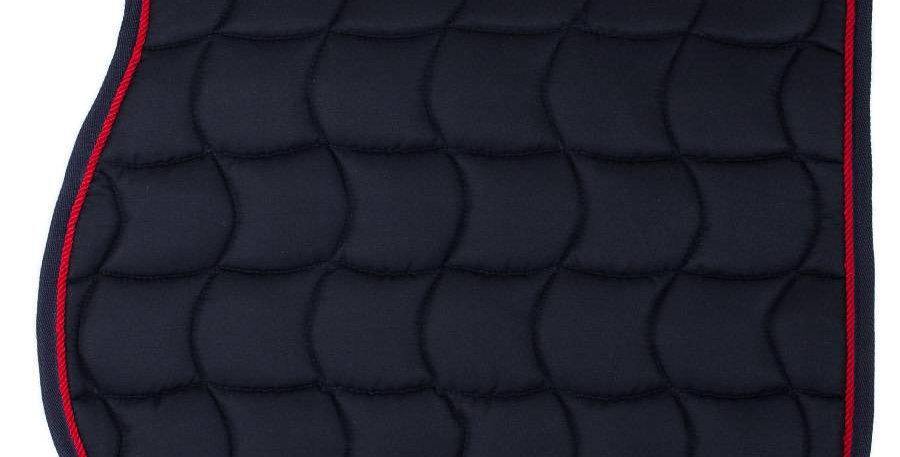 Tapis de selle - bleu marine/bleu marine-rouge