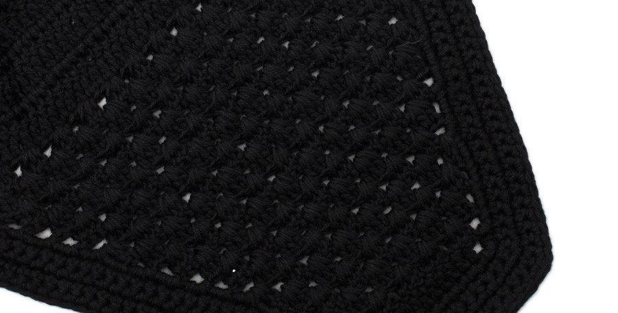 Bonnet modele droit - noir