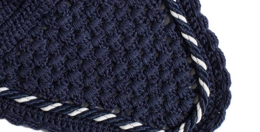 Bonnet - bleu marine/bleu marine-mix