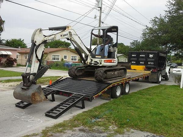 Matthew Hisey Bobcat Service Excavator in Austin Texas