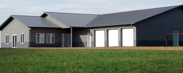 Large Metal Building BARN