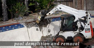 Matthew Hisey Bobcat Service Pool Demo in Cedar Park Texas