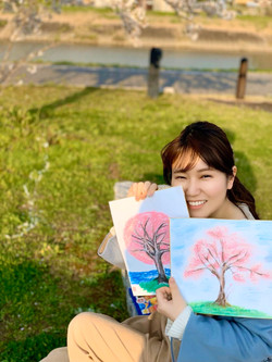 似顔絵_イラスト_水彩画教室_大阪_匠に学ぶ