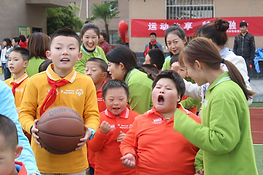 Unified Sports held by Baoji Special Edu