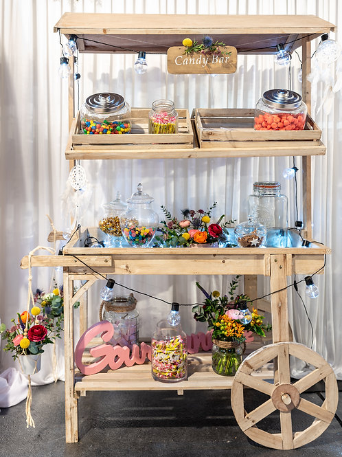 Candy bar champêtre