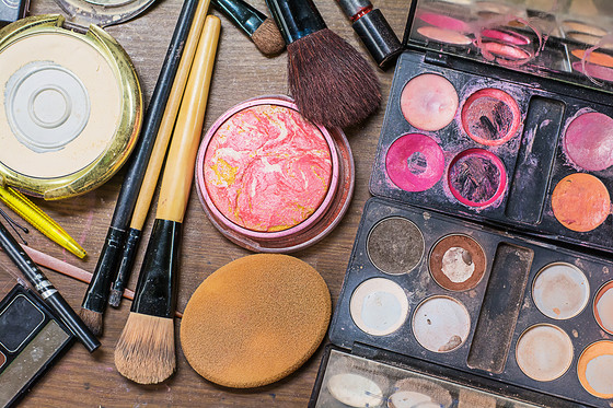 Keeping it Clean -                               The Makeup Counter