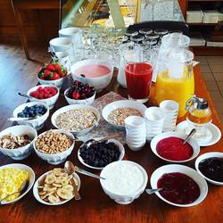 Frühstückszeit im Hofcafe Gugelhupf